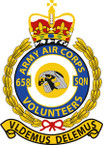 STICKER British Crest - 658 SQN - Army Air Corps (AAC)