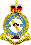 STICKER British Crest - 657 SQN - Army Air Corps (AAC)
