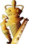 STICKER British Collar Badge - Ulster Defence Regiment
