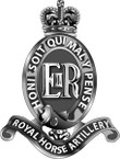 STICKER British Cap Badge - Great Britain - Royal Horse Artillery