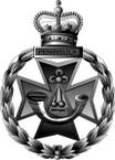 STICKER British Cap Badge - Great Britain - Royal Green Jackets