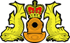 STICKER British Badge - Royal Navy Dive Crest