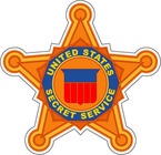STICKER ALL UNITED STATES SECRET SERVICE