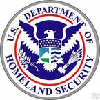 STICKER ALL UNITED STATES DEPT OF HOMELAND SECURITY