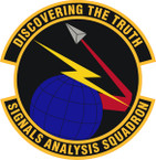 STICKER USAF Signals Analysis Squadron Emblem