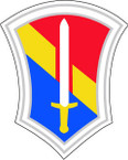 DEL US ARMY UNIT 86TH INFANTRY DIV SHIELD