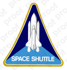 STICKER SPACE SHUTTLE PROGRAM