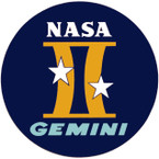 STICKER NASA GEMINI PROGRAM