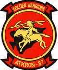 STICKER USN VA 87 Golden Warriors