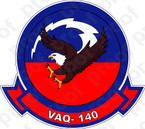 STICKER USN VAQ 140 Patriots