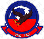 STICKER USN VAQ 140 Patriots