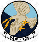 STICKER USN VAW 126 Sea Hawks