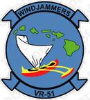 STICKER USN VR 51 Windjammers