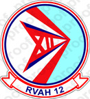 STICKER USN RVAH 12 Speartips