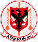 STICKER USN VA 96 ATAKRON