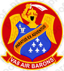 STICKER USN VA 8 Air Barons