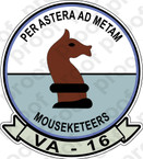 STICKER USN VA 16 Mouseketeers