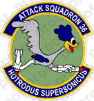 STICKER USN VA 36 Roadrunners