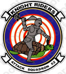 STICKER USN VA 52 Knight Riders