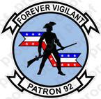 STICKER USN VP 92 Minutemen