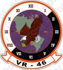 STICKER USN VR 46 Eagles