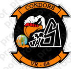STICKER USN VR 64 Condors