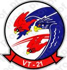 STICKER USN VT 21 Redhawks