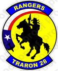 STICKER USN VT 28 Rangers