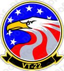 STICKER USN VT 22 Golden Eagles