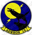 STICKER USN VW 15 Early Warning Squadron