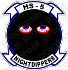 STICKER USN HS  5 Nightdippers