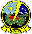 STICKER USN HS 11 Dragonslayers