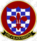 STICKER USN HSC  4 Black Knights