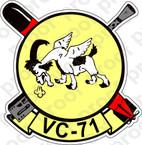 STICKER USN VC 71 Composite Squadron
