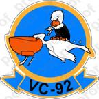 STICKER USN VC 92 Composite Squadron