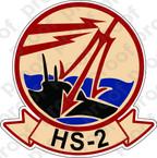 STICKER USN HS 2 HELASRON