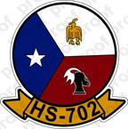 STICKER USNR HS 702 HELASRON