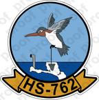 STICKER USNR HS 762 HELASRON