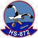 STICKER USNR HS 872 HELASRON