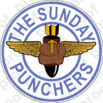 STICKER USN VA7 VA 75 SUNDAY PUNCHERS