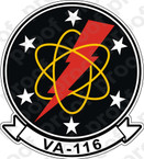 STICKER USN VA 116 ROADRUNNER