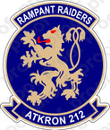 STICKER USN VA 212 RAMPANT RAIDERS