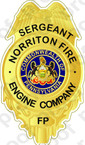 STICKER CIVIL NORRITON FIRE DEPARTMENT