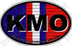 STICKER MILITARY KOSOVO VETERAN KMO