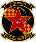 STICKER USN VC   5 ADVERSARY
