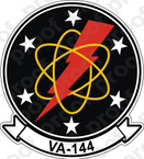 STICKER USN VA 144 ROADRUNNER