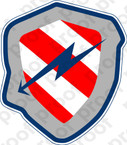 STICKER USN VA 172 BLUEBOLTS