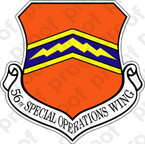 STICKER USAF  56th SPECIAL OPERATIONS WING