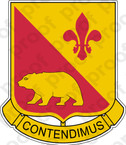 STICKER US ARMY 144TH FIELD ARTILLERY REGIMENT