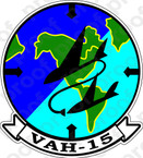 STICKER USN VAH 15 Heavy Attack Squadron